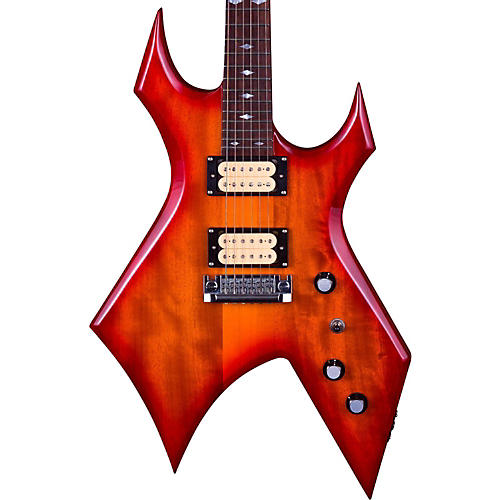 B.C. Rich Warlock Neck Through Electric Guitar-thumbnail