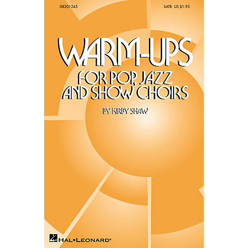 Hal Leonard Warm-Ups for Pop, Jazz and Show Choirs ShowTrax CD Composed by Kirby Shaw-thumbnail