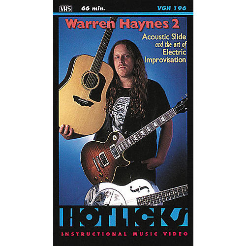 Hot Licks Warren Haynes 2 (VHS)