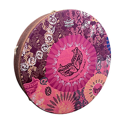 Remo Warriors in Pink SKYNDEEP M2 Drumhead-thumbnail