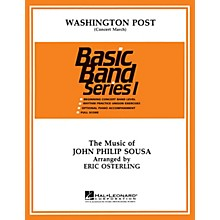 Hal Leonard Washington Post March Concert Band Level 1 Arranged by Eric Osterling