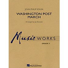 Hal Leonard Washington Post March Concert Band Level 3 Arranged by Jay Bocook