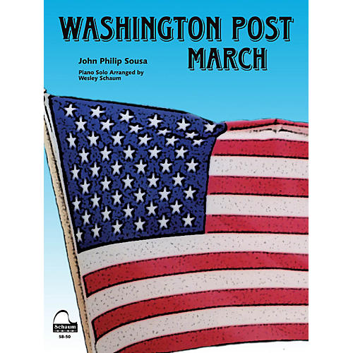 SCHAUM Washington Post March Educational Piano Series Softcover-thumbnail