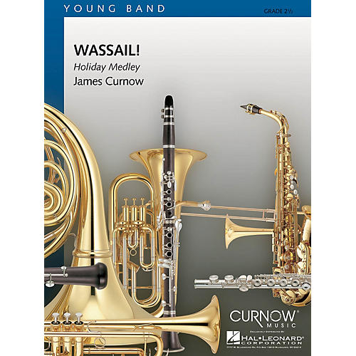 Curnow Music Wassail! (Grade 2 - Score Only) Concert Band Level 2 Arranged by James Curnow