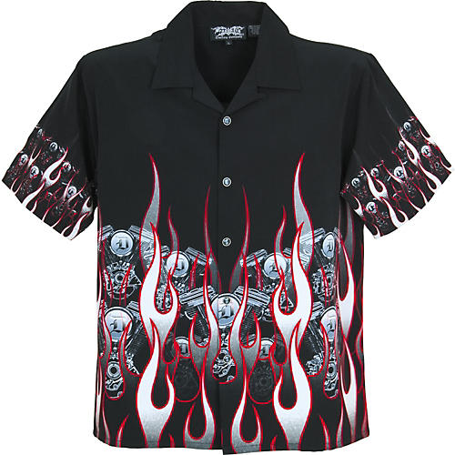 Dragonfly Clothing Company Wasteland Flame Motor Shirt-thumbnail