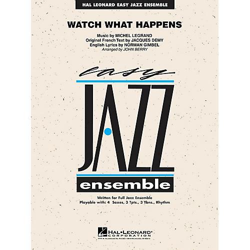 Hal Leonard Watch What Happens Jazz Band Level 2 Arranged by John Berry-thumbnail