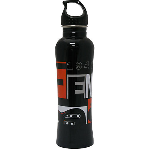 Fender Water Bottle, Fender Stainless