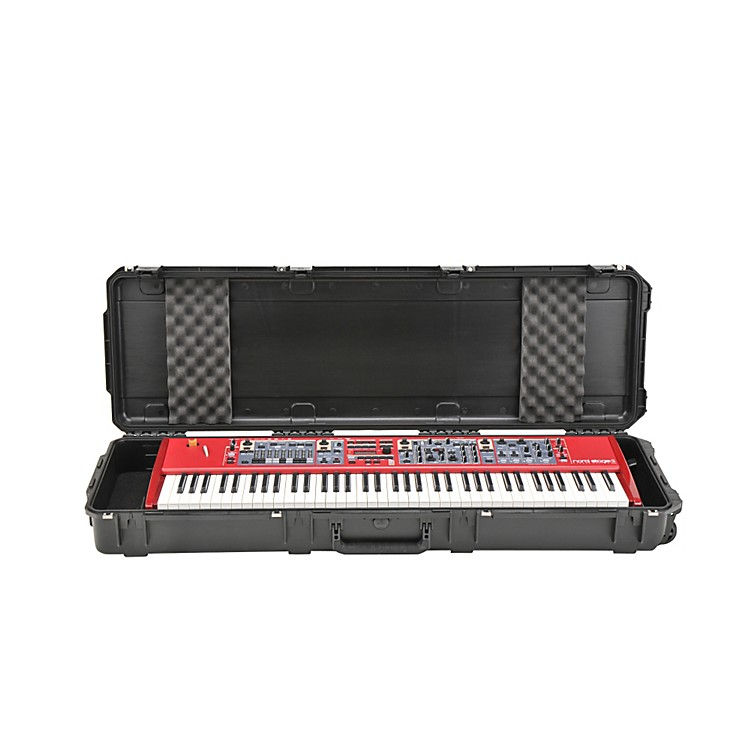 SKB Waterproof Injection-Molded 76-Note Keyboard Case  48