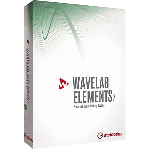 Steinberg WaveLab Elements 7 Upgrade from WaveLab LE 7 and WaveLab LE 6