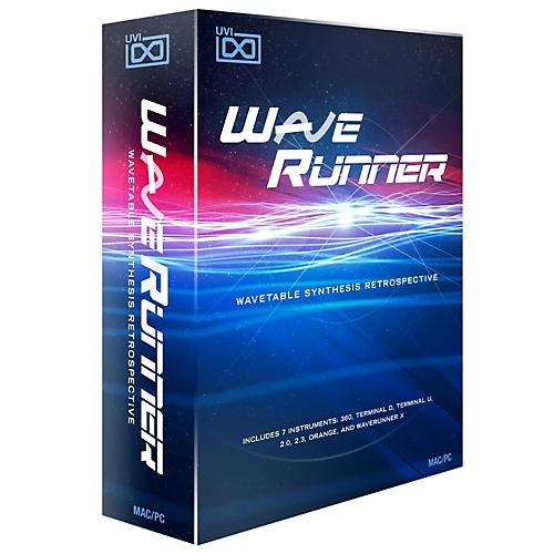 UVI WaveRunner Wavetable Retro Synth Software Download