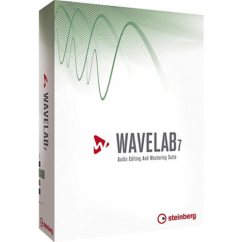 Steinberg Wavelab 7 Audio and Mastering Software-thumbnail
