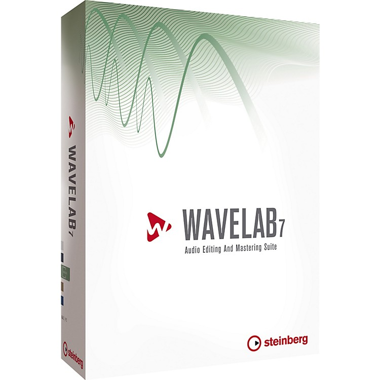 SteinbergWavelab 7 Audio and Mastering Software