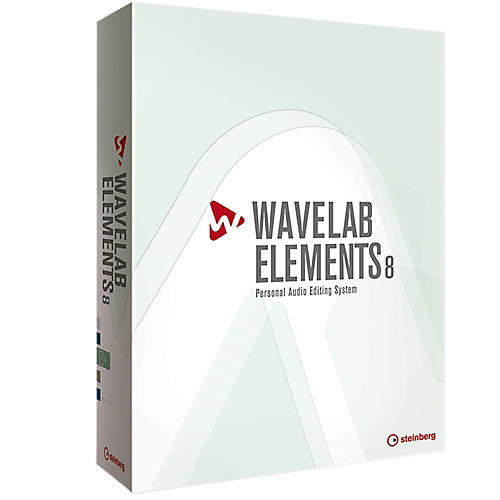 Steinberg Wavelab Elements 8 with Free Upgrade to Wavelab Elements 9