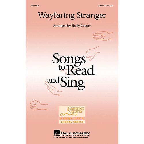 Hal Leonard Wayfaring Stranger 2-Part arranged by Shelly Cooper-thumbnail