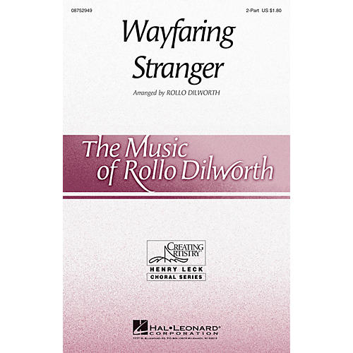 Hal Leonard Wayfaring Stranger 2-Part opt. descant arranged by Rollo Dilworth-thumbnail