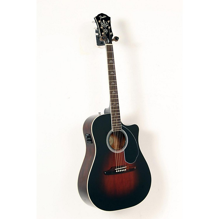 used fender wayne kramer dreadnought acoustic electric guitar musician 39 s friend. Black Bedroom Furniture Sets. Home Design Ideas