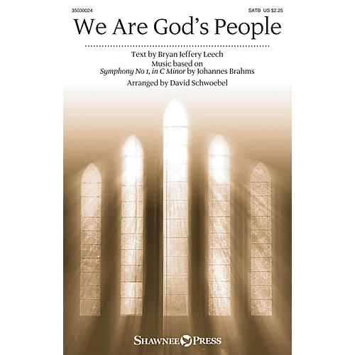 Shawnee Press We Are God's People SATB arranged by David Schwoebel-thumbnail