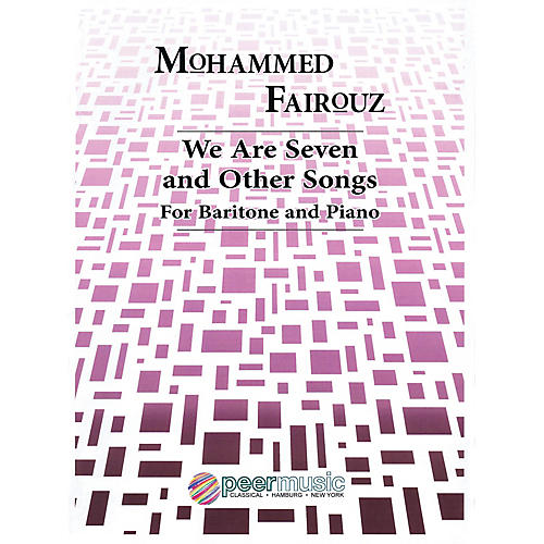 Peer Music We Are Seven and Other Songs (Baritone and Piano) Peermusic Classical Series Composed by Mohammed Fairouz-thumbnail