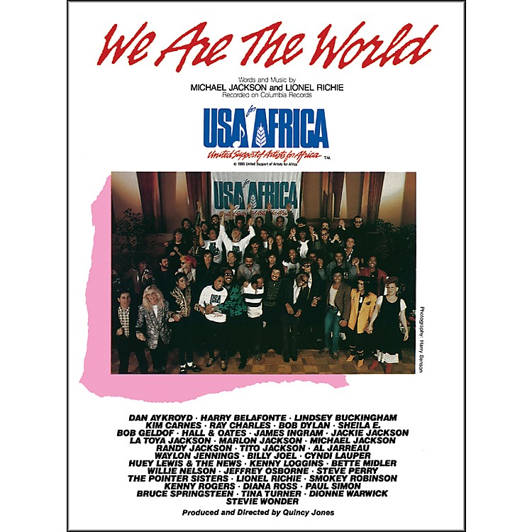 Alfred We Are the World (USA for Africa) Piano/Vocal/Chords Sheet