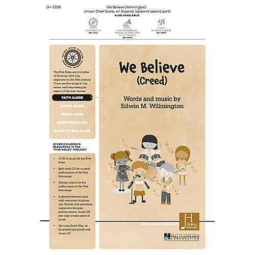 Jubal House Publications We Believe (Creed) (from The Five Solas) UNIS/2PT composed by Edwin M. Willmington-thumbnail