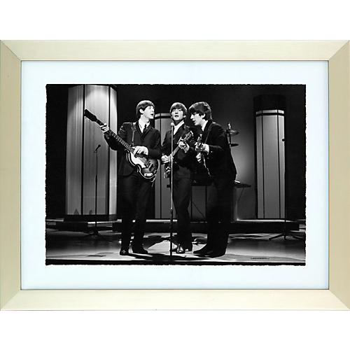 Hulton Archive We Can Work it Out Black and White Framed Print-thumbnail
