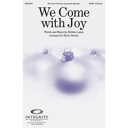 Integrity Choral We Come with Joy CD ACCOMP Arranged by Marty Hamby-thumbnail