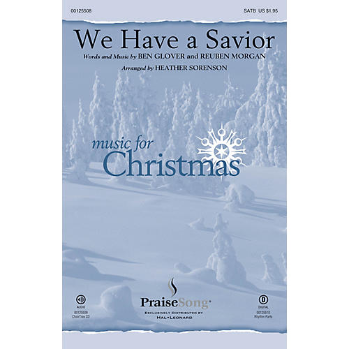 PraiseSong We Have a Savior CHOIRTRAX CD by Hillsong Arranged by Heather Sorenson-thumbnail