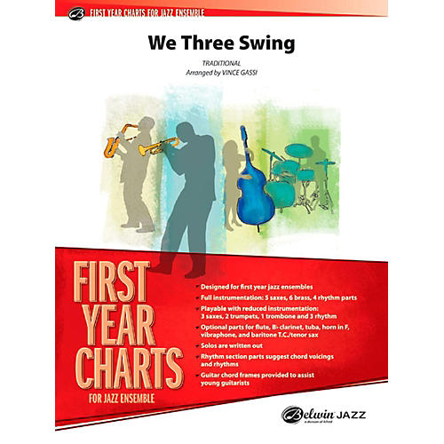 Alfred We Three Swing Jazz Band Grade 1