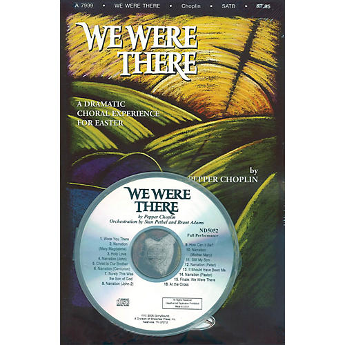 Shawnee Press We Were There PREV CD PAK composed by Pepper Choplin-thumbnail