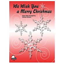 SCHAUM We Wish You A Merry Christmas Educational Piano Series Softcover