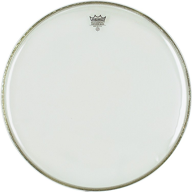 Remo Weather King Emperor Clear Bass Drumhead  22 Inches