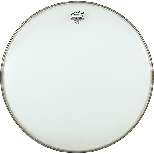 Remo WeatherKing Clear Ambassador Bass Drumhead
