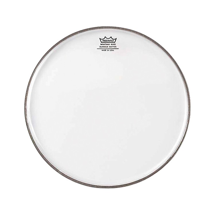 Remo WeatherKing Clear Emperor Batter Drum Head  12 Inches