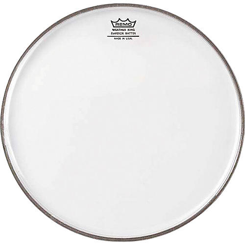 Remo WeatherKing Clear Emperor Batter Drum Head  12 in.