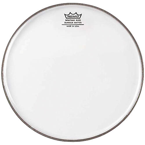 Remo WeatherKing Clear Emperor Batter Drum Head  6 in.