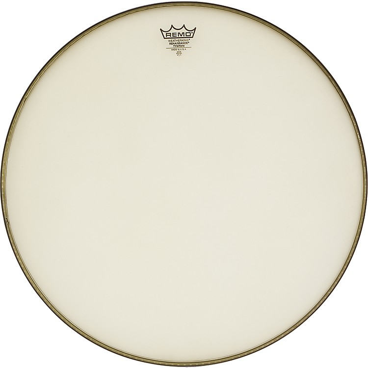 Remo Weatherking Renaissance Hazy Timpani Heads 34 Inch, Steel Insert Ring