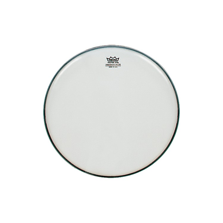 Remo Weatherking Smooth White Ambassador Batter  10 Inches