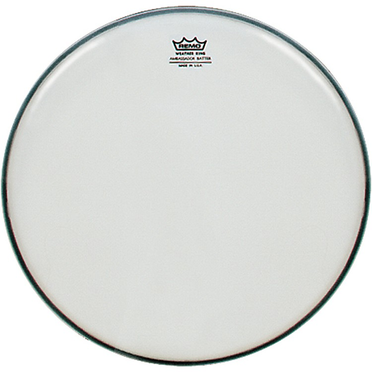 Remo Weatherking Smooth White Ambassador Batter  16 Inches