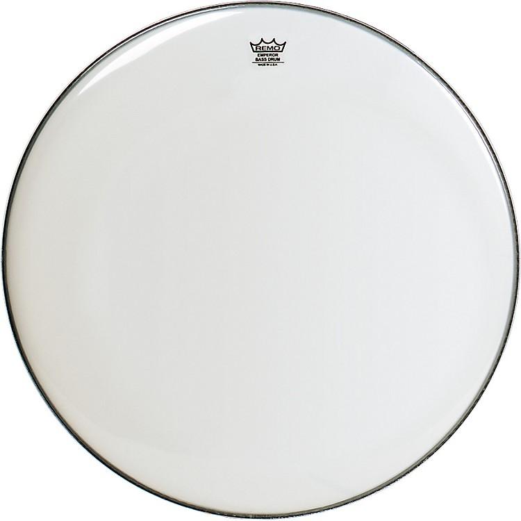 RemoWeatherking Smooth White Emperor Bass Drum Head28 Inches