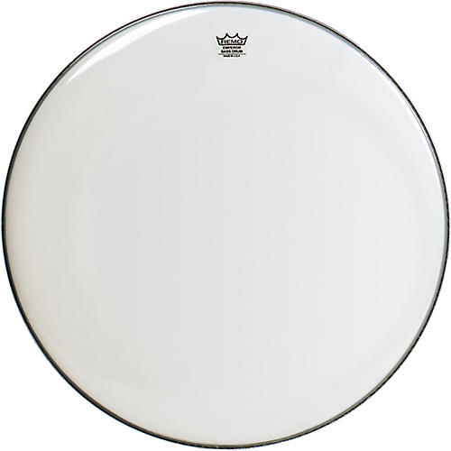 Remo Weatherking Smooth White Emperor Bass Drum Head  24 in.
