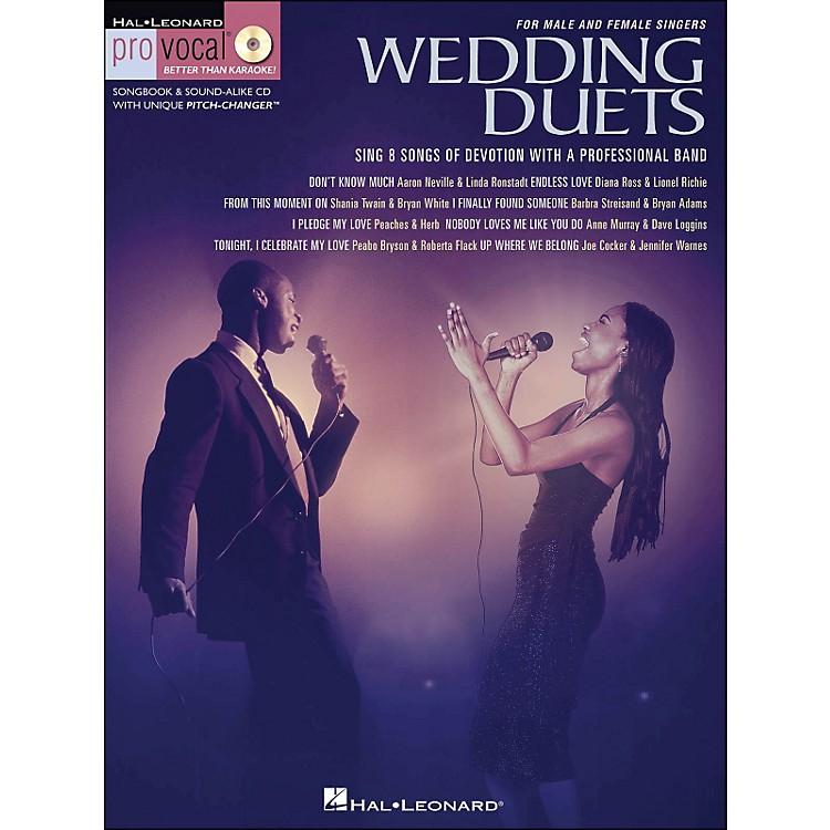 Hal LeonardWedding Duets for Male & Female Singers Book/CD Volume 1