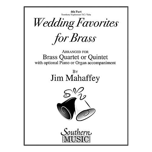 Southern Wedding Favorites for Brass (Part 4 - Trombone/Euphonium/Tuba) Southern Music Series by Jim Mahaffey-thumbnail