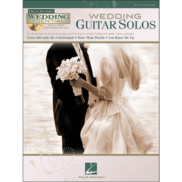 Hal LeonardWedding Guitar Solos Wedding Essentials Series Book/CD