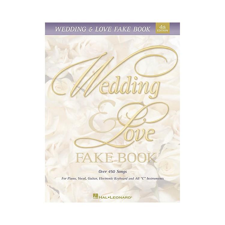 Hal LeonardWedding & Love Fake Book 5th Edition