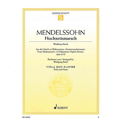Schott Wedding March - Op. 61, No. 9 from A Midsummer Night's Dream by Felix Mendelssohn Bartholdy-thumbnail