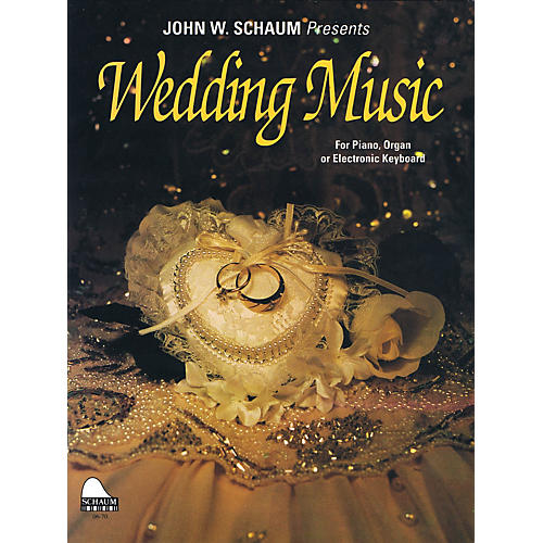 SCHAUM Wedding Music Educational Piano Series Softcover-thumbnail