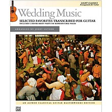 Alfred Wedding Music Selected Favorites Transcribed for Guitar Book