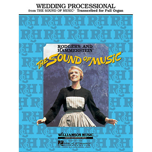 Hal Leonard Wedding Processional (from The Sound of Music) Organ Solo Series-thumbnail