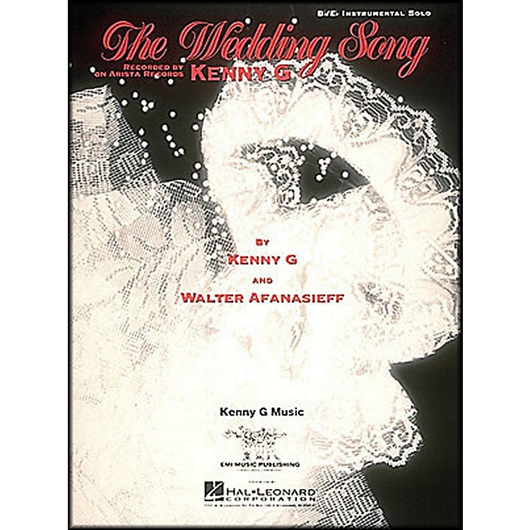 Hal Leonard Wedding Song B Flat & E Flat Instrumental Solo