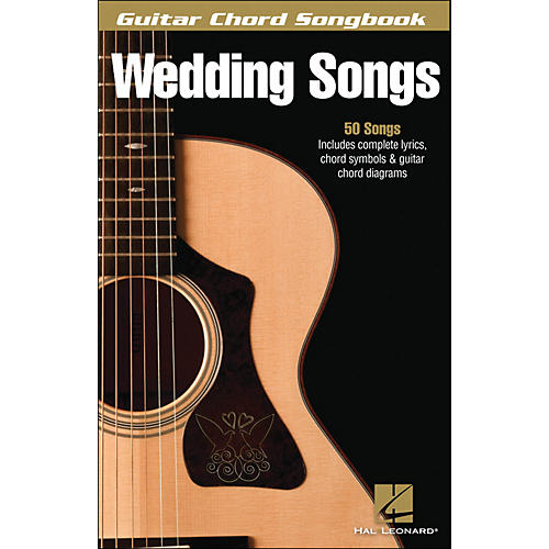 Hal Leonard Wedding Songs - Guitar Chord Songbook